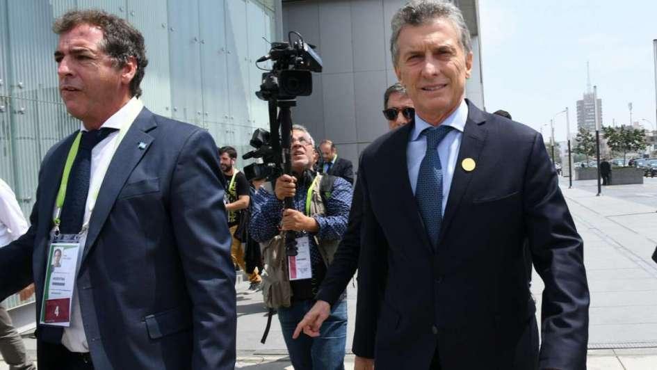 Reunión de la Corte Suprema con Marcos Peña y Germán Garavano
