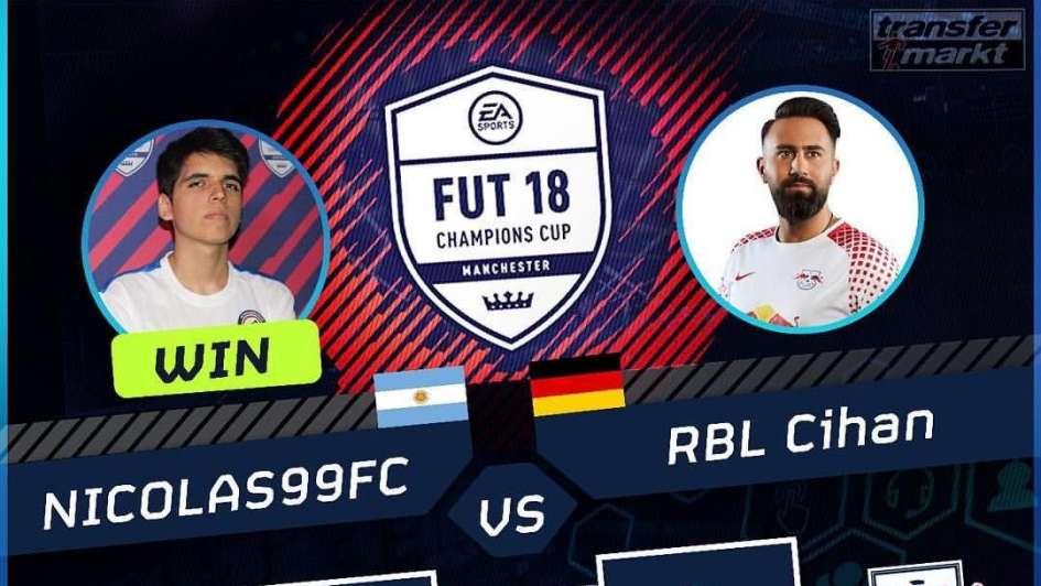 Nico Villalba, el Messi de los eSports perdió en semi del Mundial