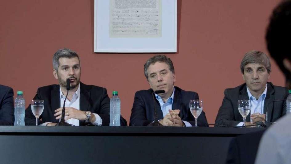 Dujovne, Caputo y Sturzenegger asisten a la Asamblea Anual del FMI en Washington