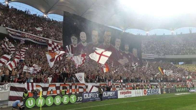 Batalla campal en el fútbol de Rumania