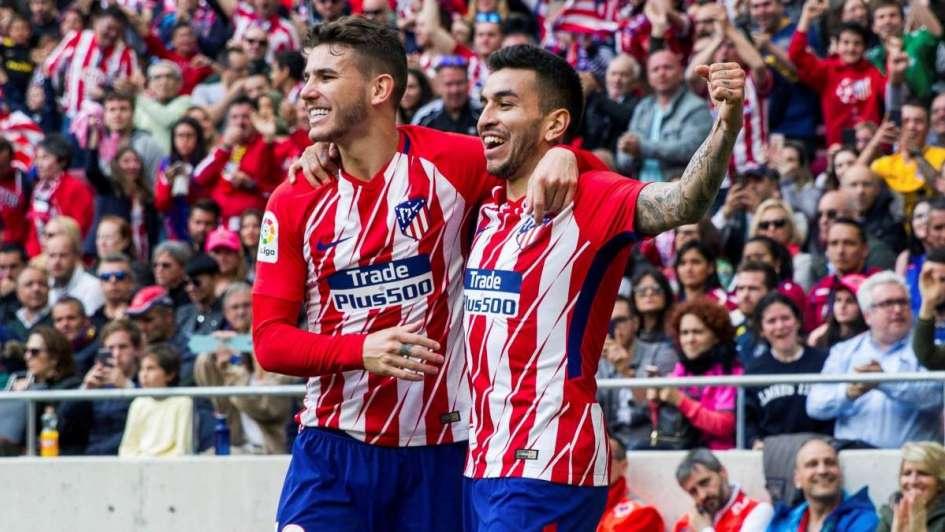 El Atlético goleó al Levante con gol de Ángel Correa