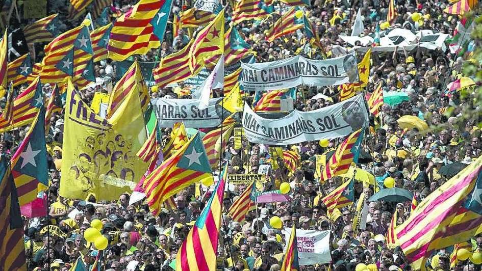 Reclamaron la libertad de independentistas detenidos
