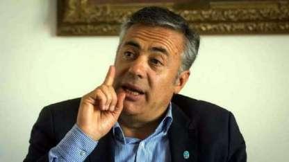 El hoy presidente de la UCR y gobernador de Mendoza, Alfredo Cornejo.