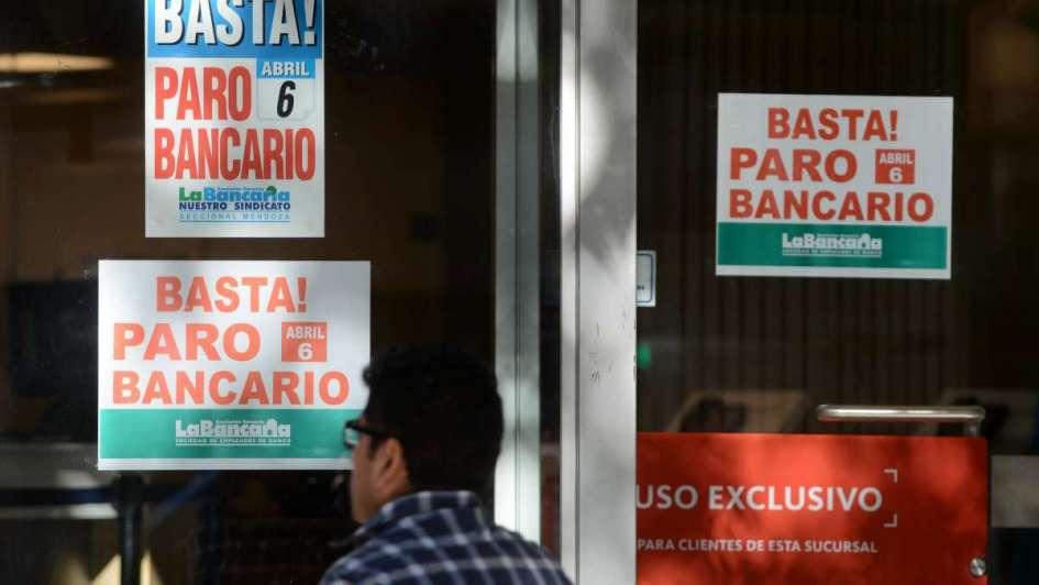Se ratificó el paro bancario para Martes y Miércoles