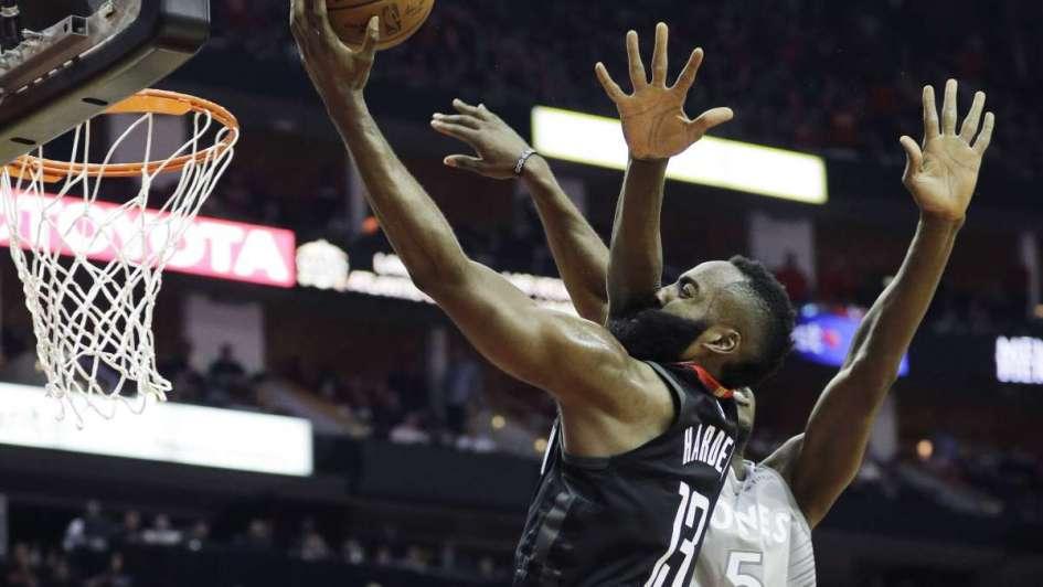 Playoffs NBA: triunfos ajustados de Rockets, Celtics y Thunder