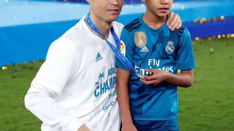 Hijo e' Tigre: el hijo de Cristiano Ronaldo, goleador en un torneo madrileño
