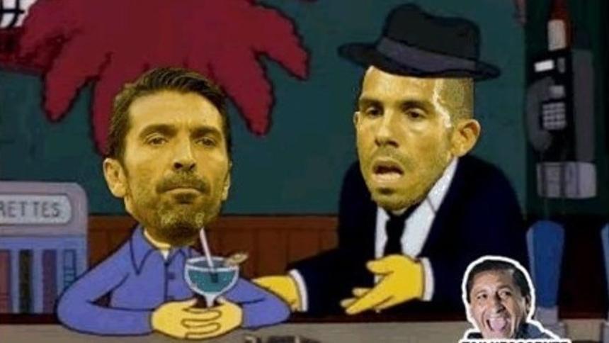 La posible llegada de Buffon a Boca también trajo memes