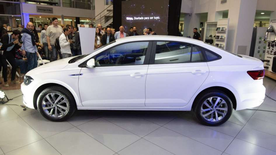 El nuevo Volkswagen Virtus llegó a Yacopini Süd