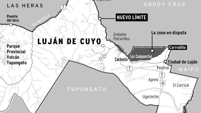 Límites: la Corte ratificó el fallo favorable a Luján