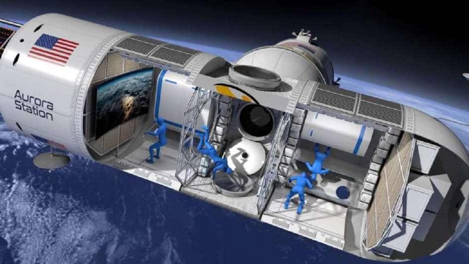 Así es el primer hotel en el espacio: sus habitaciones ya pueden reservarse por la web