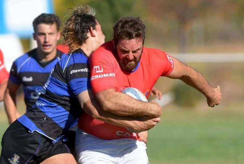 Gran actuación de los locales en el Rugby