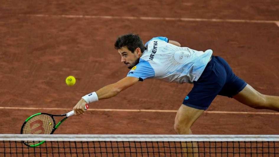 Schwartzman le ganó a Pella — Tenis