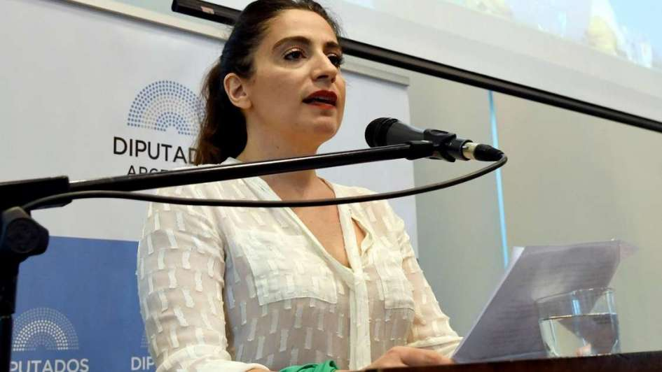 Muriel Santa Ana detalló en el Congreso cómo fue el aborto que se practicó