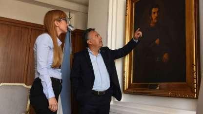 El gobernador Cornejo y Fernández Sagasti superaron diferencias y hasta han encontrado coincidencias políticas.