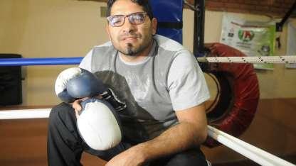 El ex boxeador Pablo Chacón