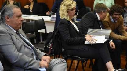 Carlos Balsells Miró y Jimena Latorre en la audiencia pública.