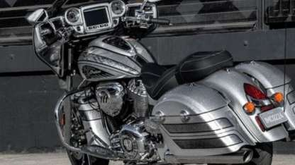 Uno de los modelos pasados a revisión. / Foto : Indian motorcycle