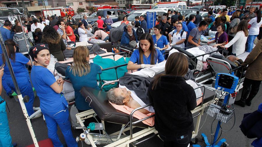 Violenta explosión en el Sanatorio Alemán de Concepción