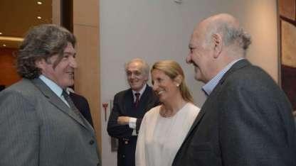 José Ramón y Juan Carlos Jaliff, referentes del Partido Intransigente y la UCR.