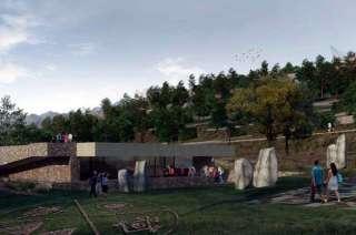 Una simulación de cómo quedará el ex Zoo.