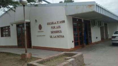La escuela sufrió pérdidas totales.