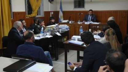 Hisa durante la audiencia en la que se definió su prisión preventiva.