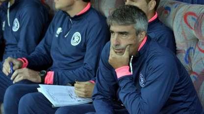 El entrenador de la Lepra se lamentó por el resultado obtenido en San Luis y que deja complicado a su equipo.