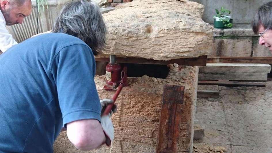 Hallaron en Italia los restos de un supuesto gran maestre templario