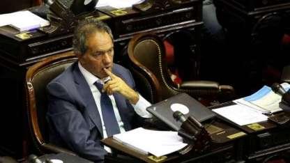 Hace 3 años, el diputado kirchnerista Daniel Scioli se manifestó en contra de la legalización.