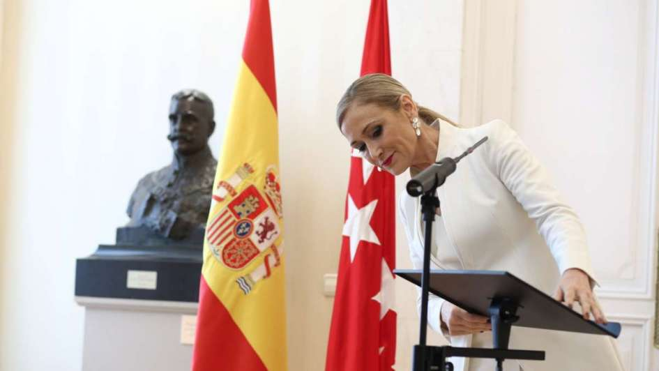 Para Rajoy, la presidenta de Madrid estaba