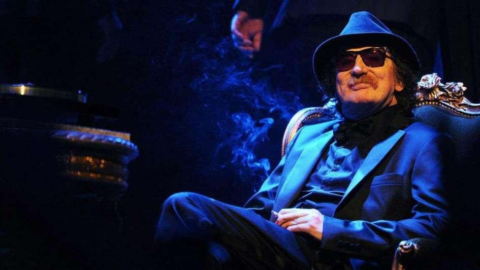 Charly García tocará el lunes en el Teatro Gran Rex