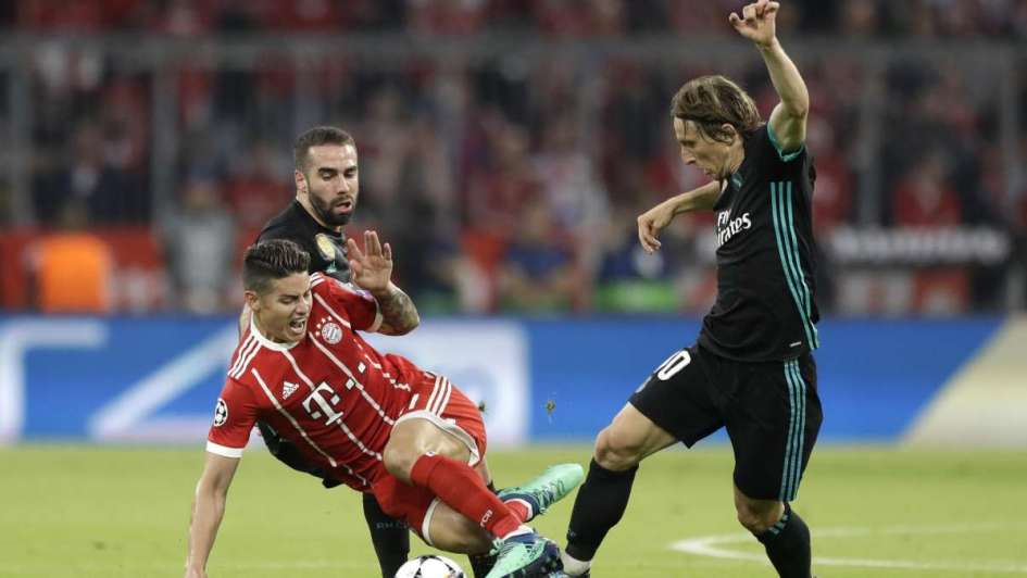 Real Madrid venció al Bayern Munich en Alemania