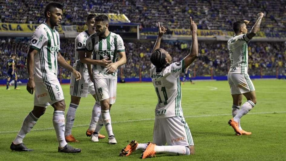 Palmeiras dejó a Boca sufriendo en la Copa Libertadores