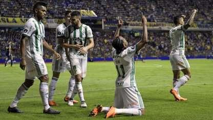 Keko festeja el primer gol brasileño.