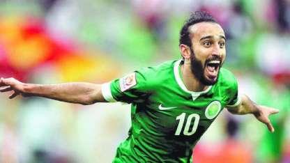 La liga árabe finalizó a mediados de abril y, desde entonces, Al-Sahlawi sólo se entrena en Manchester.