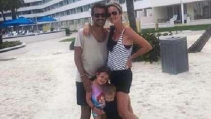 Vacaciones de Paula Chaves y Pedro Alfonso en familia