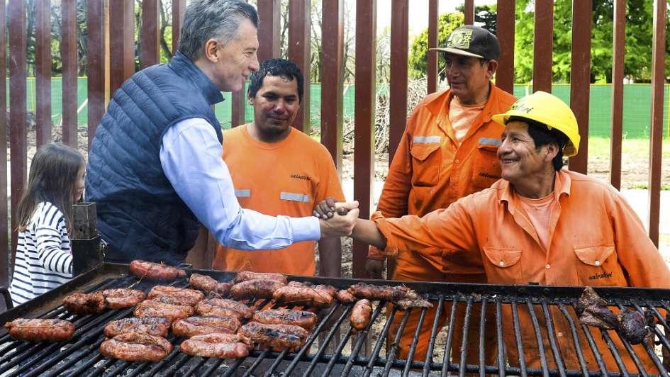 Macri felicita a los argentinos por el Día de los Trabajadores