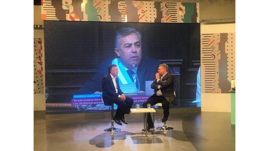 Así fue la vuelta de Marcelo Ortiz a las mañanas de la TV mendocina