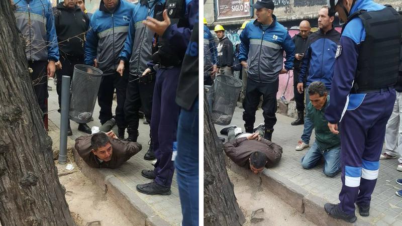 Le robaron a dos ancianos pero los detuvieron a los pocos metros