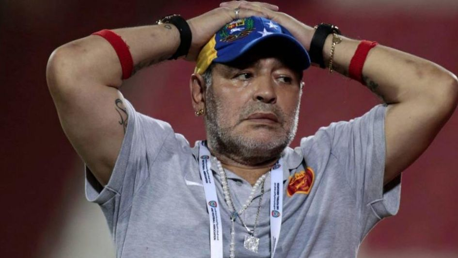 Maradona deja el Fujairah tras no alcanzar un acuerdo económico — Oficial