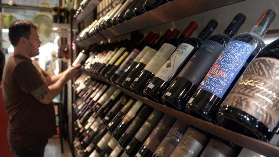 Cruje la venta de vino en botella en el mercado interno