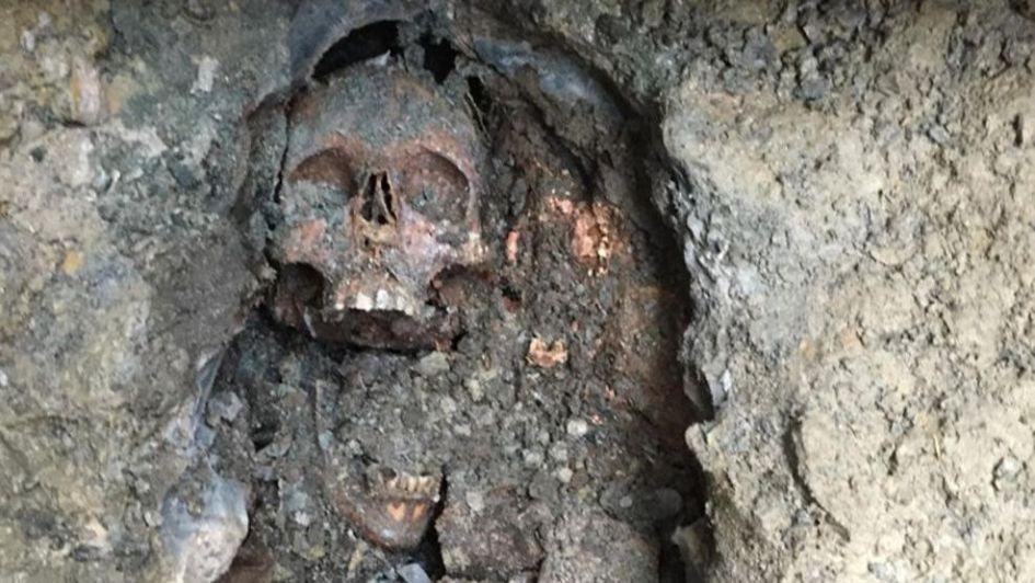 De terror: miles de huesos humanos emergen de una isla de Nueva York