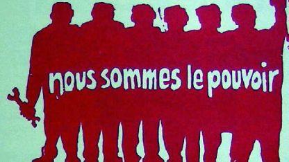 """""""Nosotros somos el poder"""", graficaba Le Parc en 1968."""