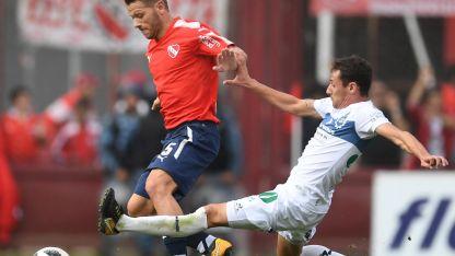 Nico Domingo fue uno de los puntos altos de Independiente.