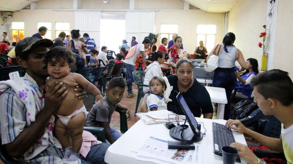 El Vaticano presentó proyecto humanitario para ayudar a migrantes venezolanos