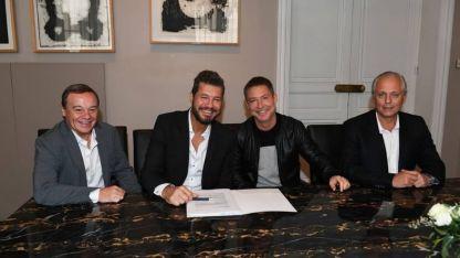 Marcelo Tinelli firmó contrato para el 2018