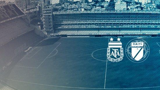 Argentina jugará en Boca contra Haití — Es oficial