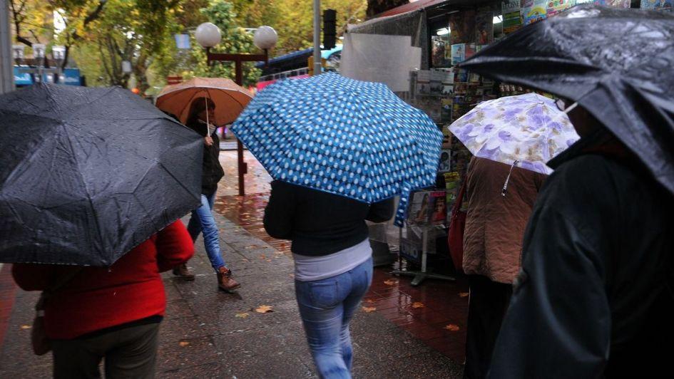Mendoza amaneció con lluvias y estará nublado al menos hasta el viernes