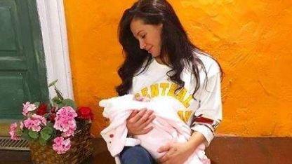Adabel Guerrero y el momento en el que se enteró que iba a ser mamá