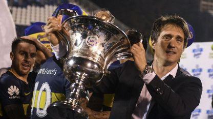 Guille rescató en empate que le permitió a su equipo retener el cetro local. Es su segundo título como DT de Boca.